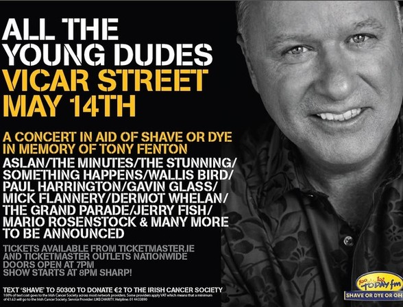 All The Young Dudes – remembering Tony Fenton