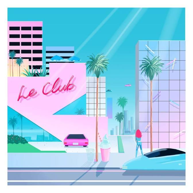 Album Review – Le Galaxie, Le Club